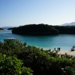 沖縄・石垣島の川平湾の写真